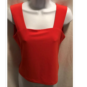 Size 8 Joseph Ribkoff Tank Top Orange